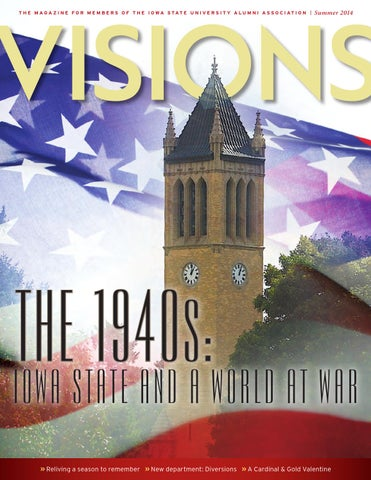 Visions magazine summer 2014 issue by iowa state university alumni page 1 fandeluxe Gallery