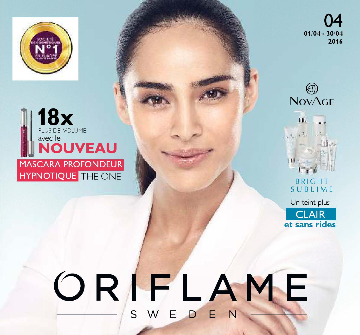 Catalogue Oriflame Maroc Avril 2016 By Lb Z Issuu