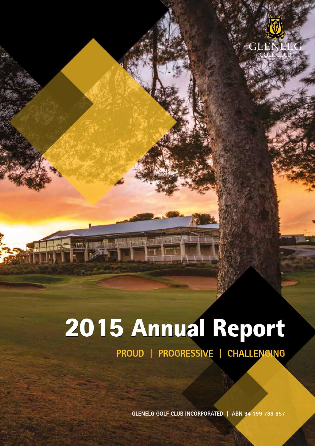2015 annual report by glenelg golf club issuu. Black Bedroom Furniture Sets. Home Design Ideas