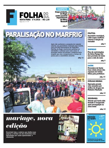 e764457c9 Jornal Folha do Sul, 1º de abril de 2016 by Folha do Sul Gaúcho - issuu