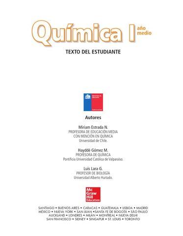 Química Primero Medio by Buenas Cosas - issuu