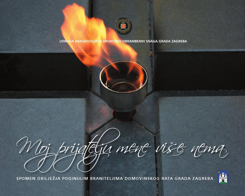 Udhos Zagreb Monografija Moj Prijatelju Mene Vise Nema By Udhos