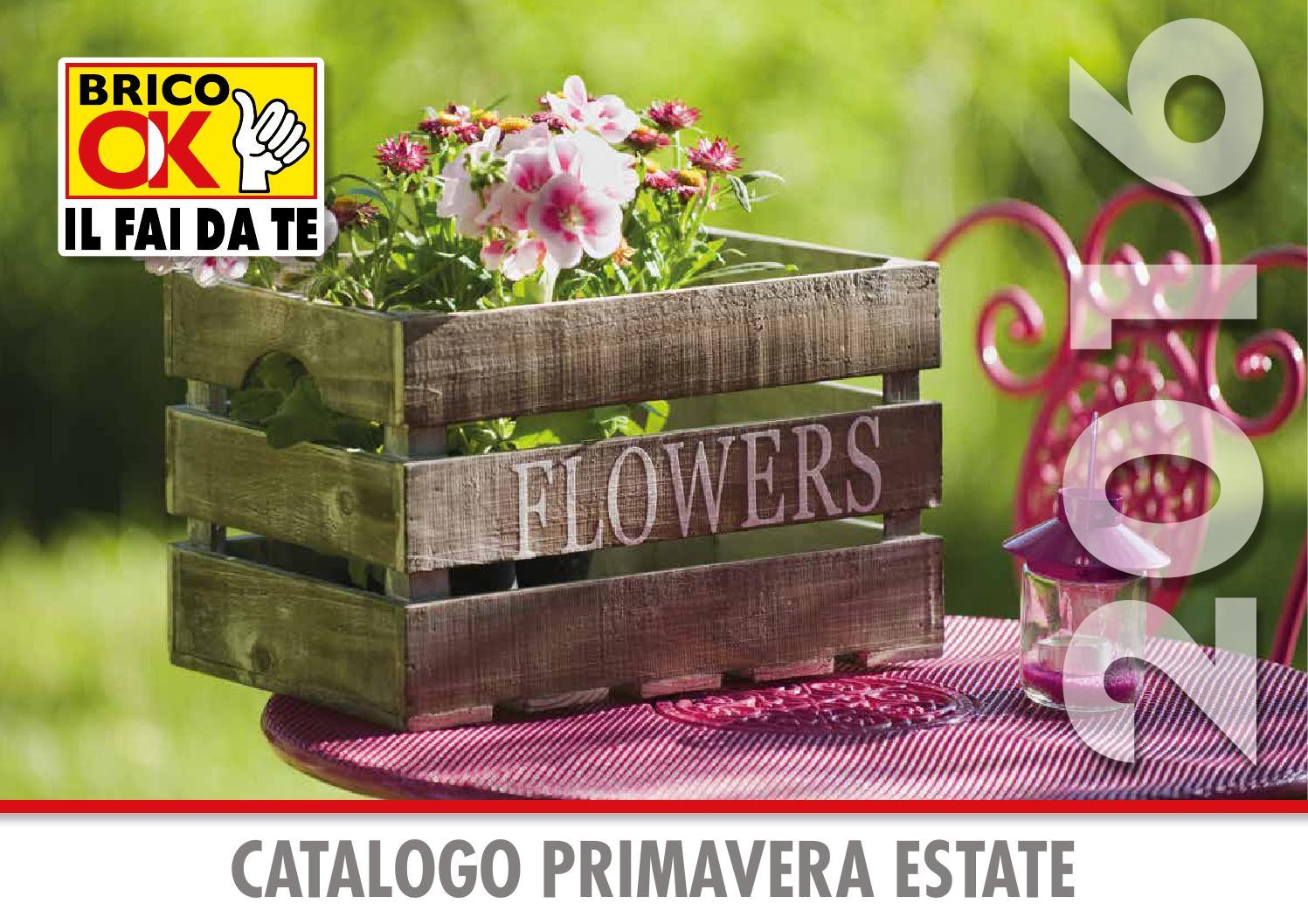 Brico ok catalogo primavera estate 2016 lr by bricolegno - Ombrelloni da giardino brico ...