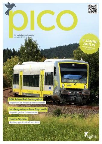 Agilis Fahrgastmagazin Pico 2 2016 By Agilis Issuu