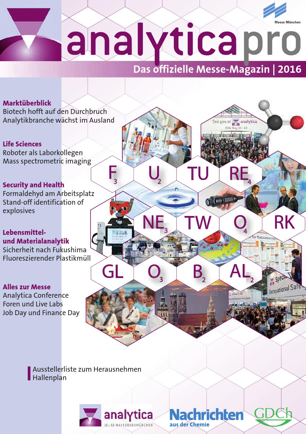 analytica_16_Messe_Magazin_D_E by Messe Muenchen - issuu