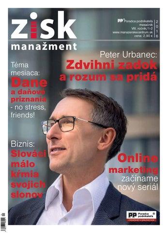 Zisk 1 2015 by Poradca Podnikateľa - issuu e2fad21b355