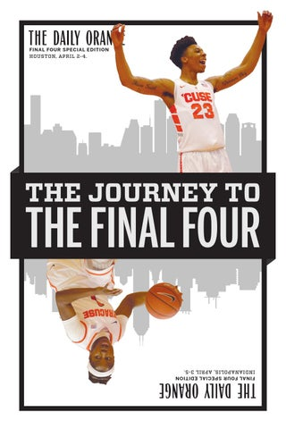 2016 Final Four Special Edition by The Daily Orange - issuu
