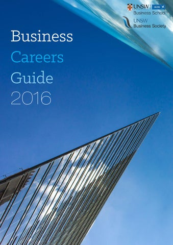 Unsw Business Society Careers Guide