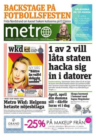 sale retailer 2052f 2a556 20160401 se stockholm by Metro Sweden - issuu