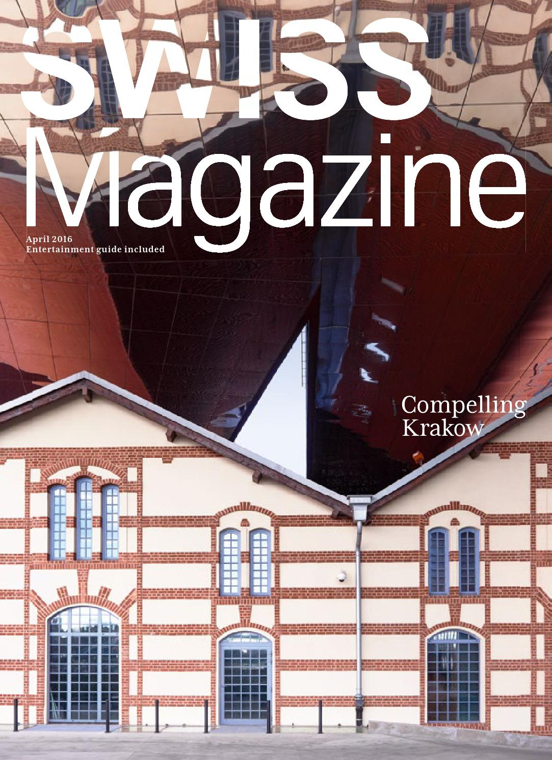 SWISS Magazine April 2016 - KRAKOW by Inflight Magazines by SWISS ...