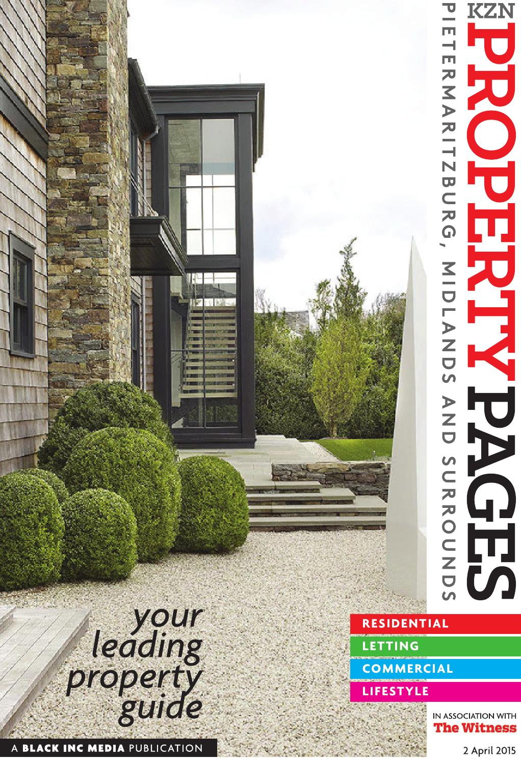 Kzn property pages 2 april 2016 by kzn property pages issuu