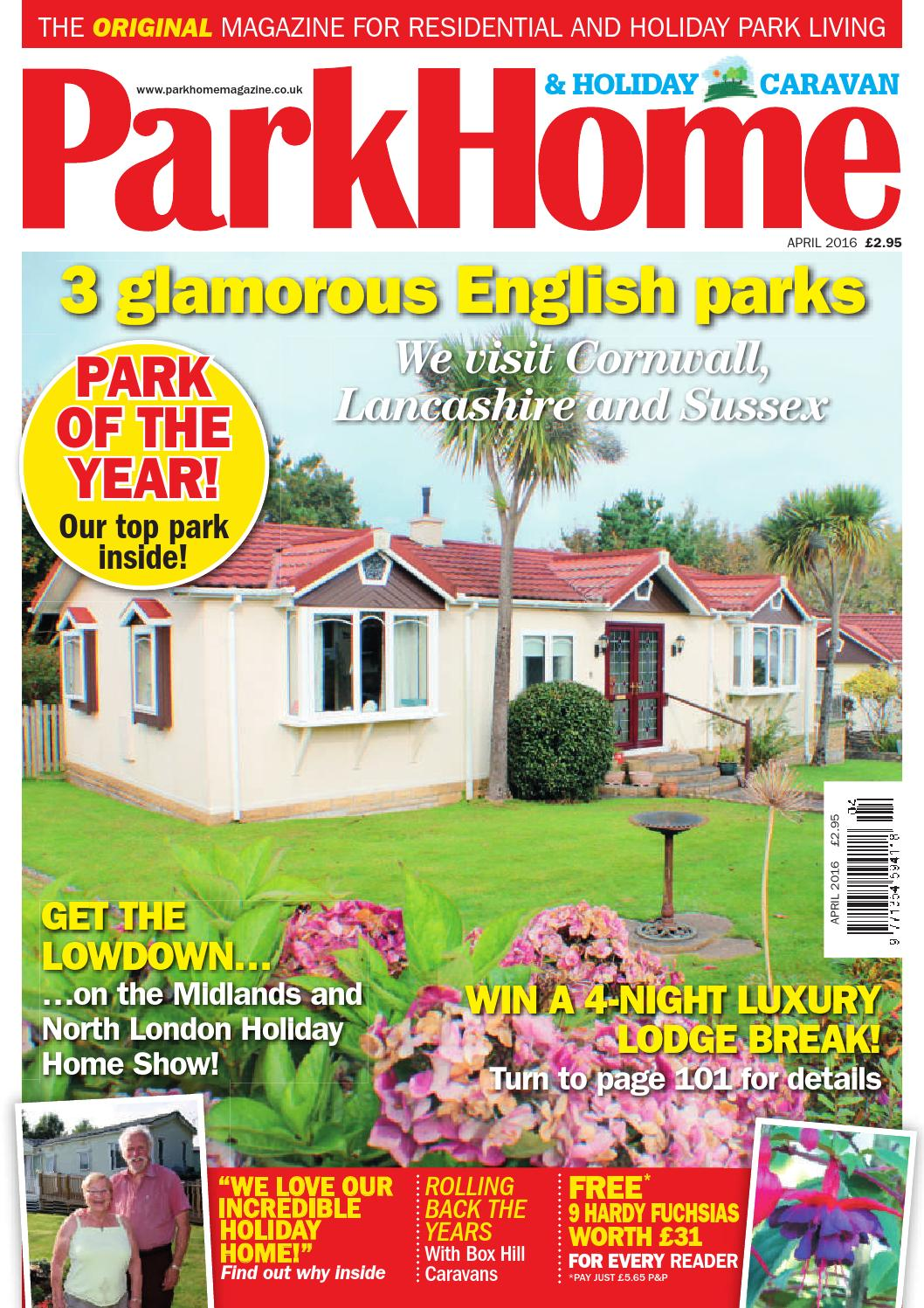 Parkhomes And Holiday Caravan April 2016 By KELSEY Publishing Ltd