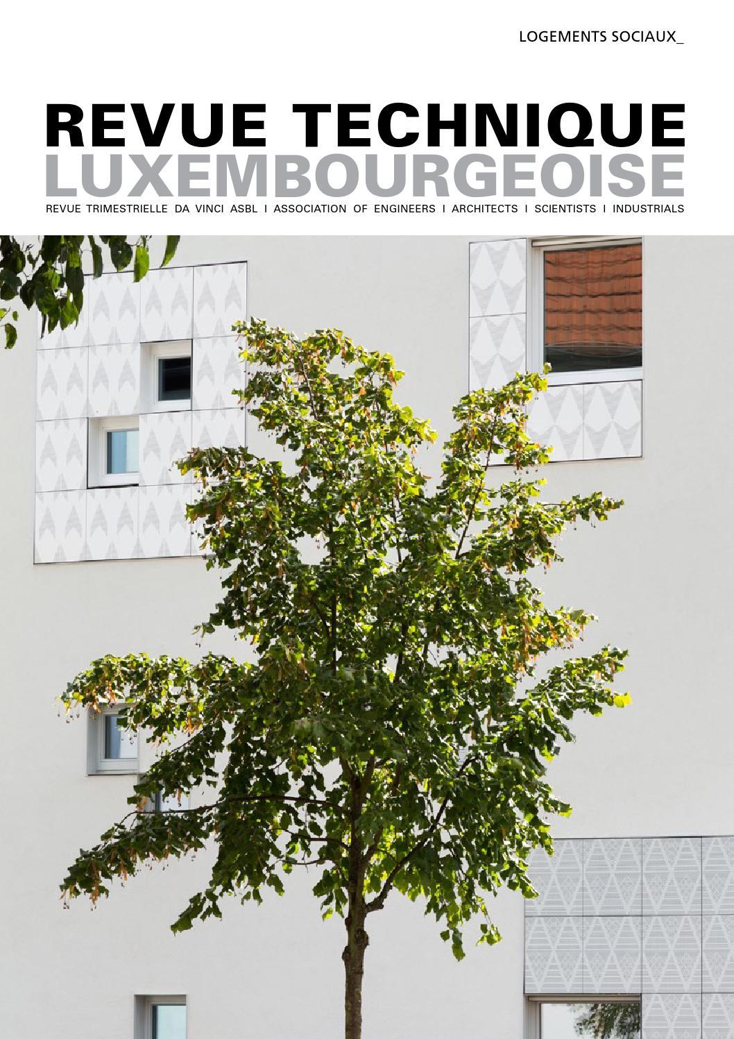Revue Technique 01 | 2016 by Paul Schroeder - issuu