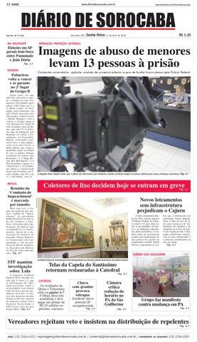 313795d643 Edição de 1° de abril de 2016 by DIÁRIO DE SOROCABA - issuu