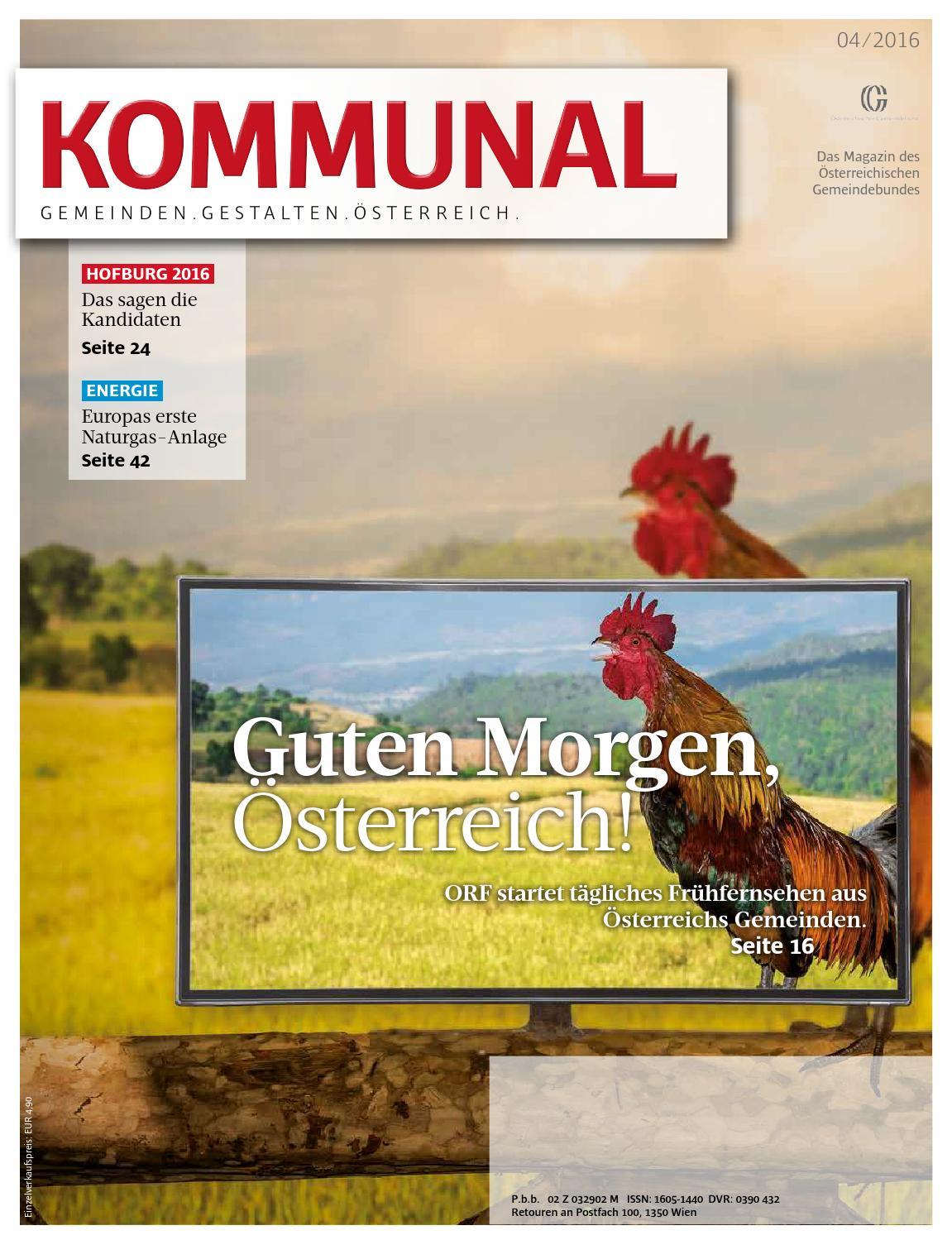 Kommunal 42016 By Gemeindebund Issuu