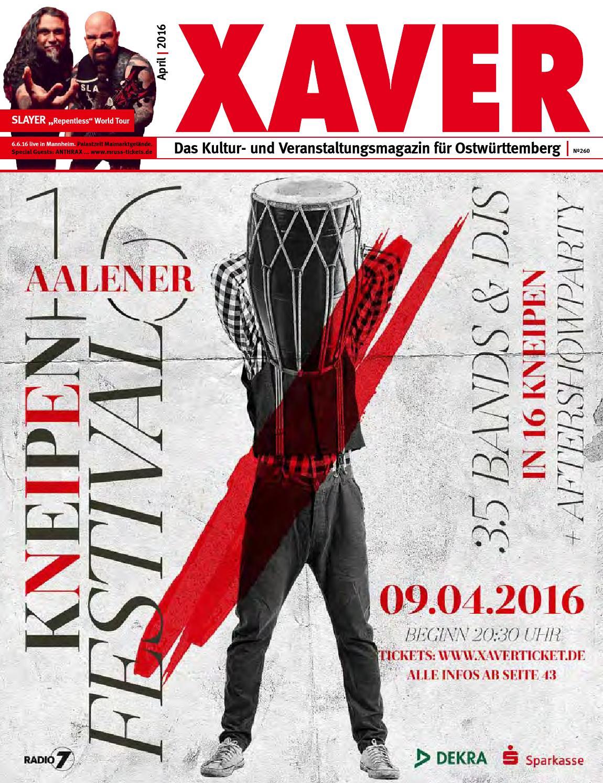 Xaver 04 16 By Hariolf Erhardt Issuu