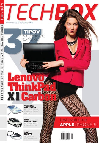 64872157b5a08 TECHBOX 11-12/2012 by TECHBOX.sk - issuu