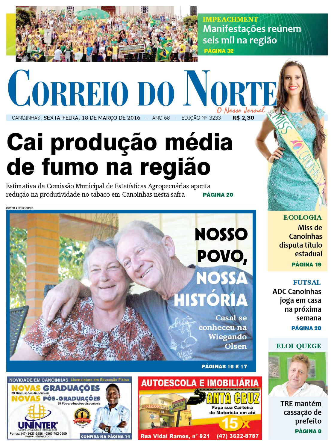 Edição 3233 by Jornal Correio do Norte - issuu 50c9a8769e8b