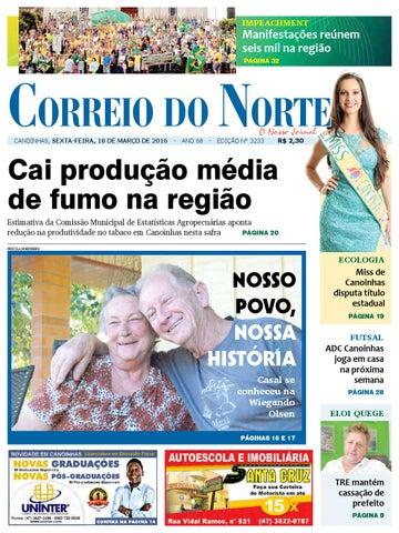 Edição 3233 by Jornal Correio do Norte - issuu f2c3e05358209