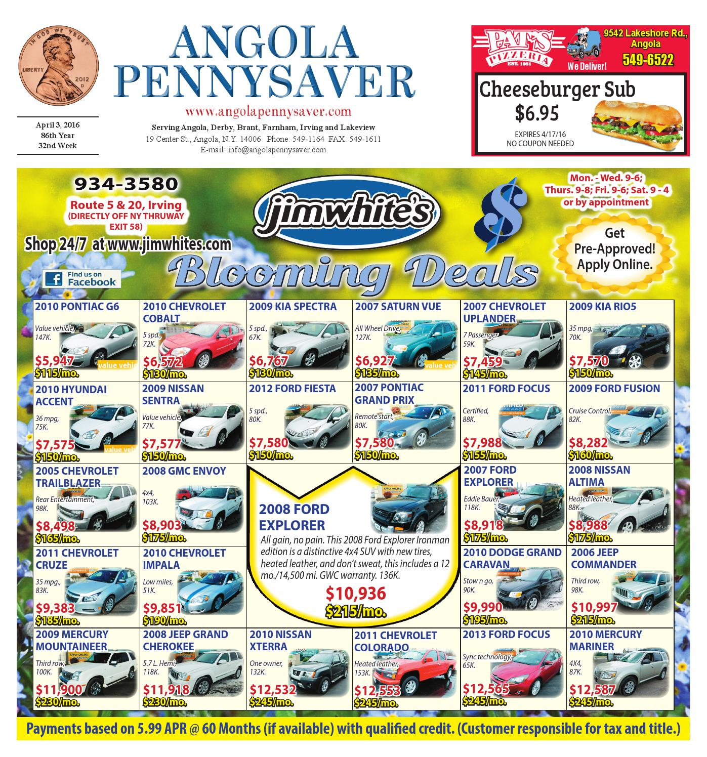 4 3 16 Angola Pennysaver By Angola Pennysaver Issuu
