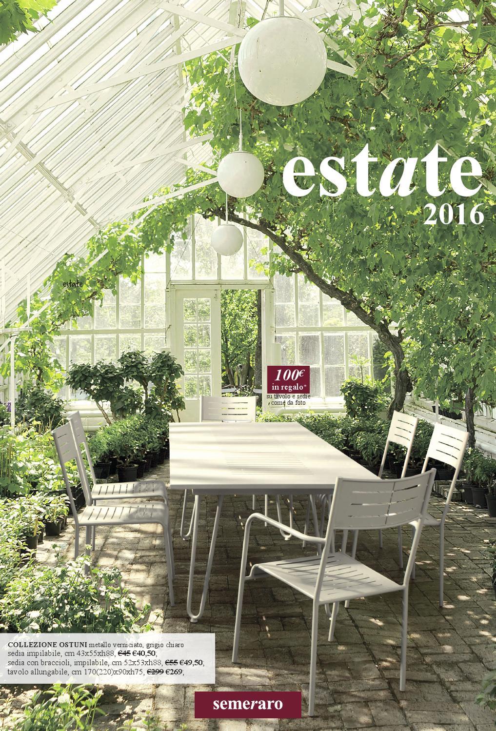 Semeraro estate 2016 by semeraro issuu for Semeraro mobili