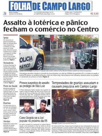 a574c97ee Folha de Campo Largo by Folha de Campo Largo - issuu