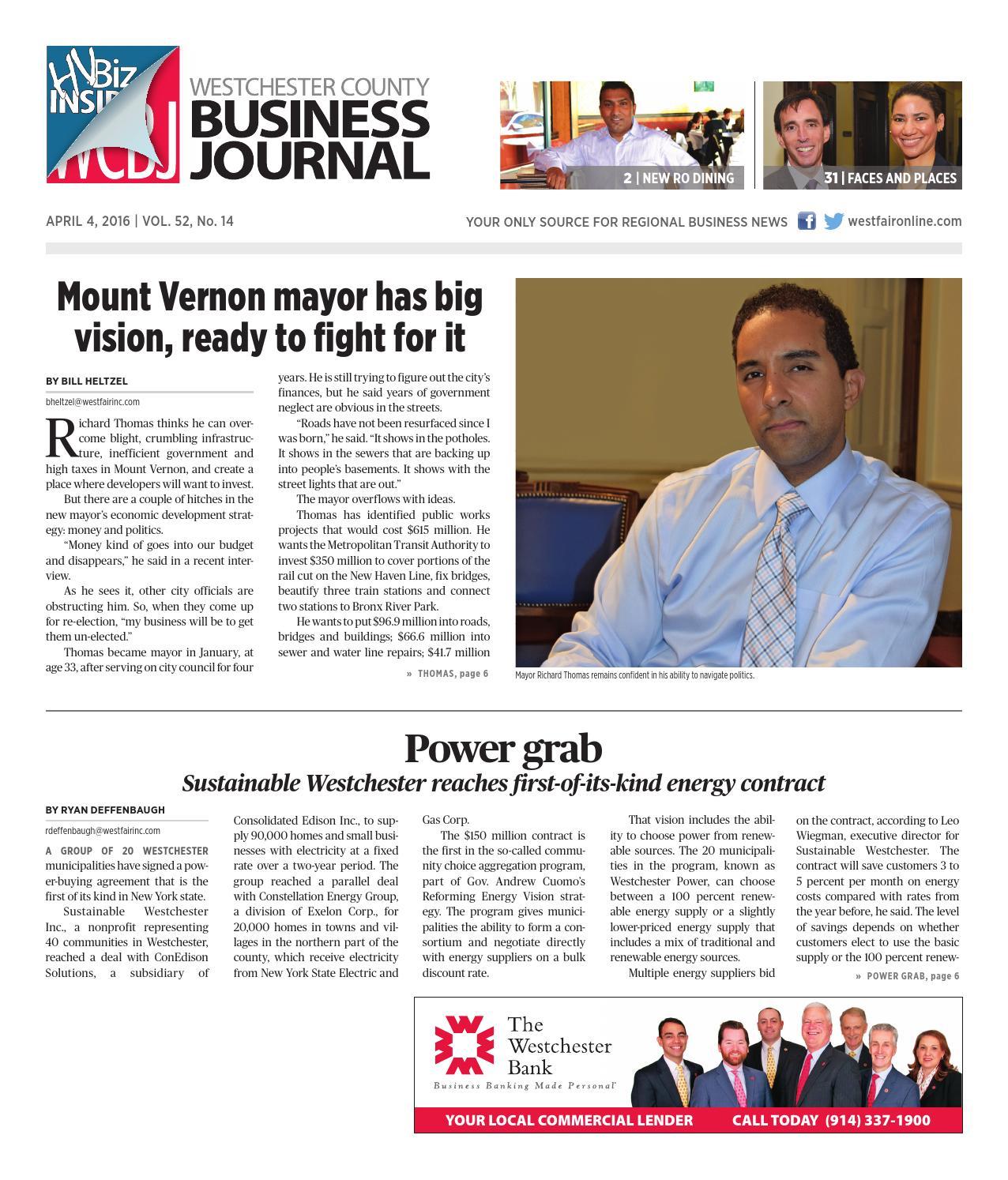 Westchester County Business Journal 040416 by Wag Magazine - issuu 0b4ac5cb9