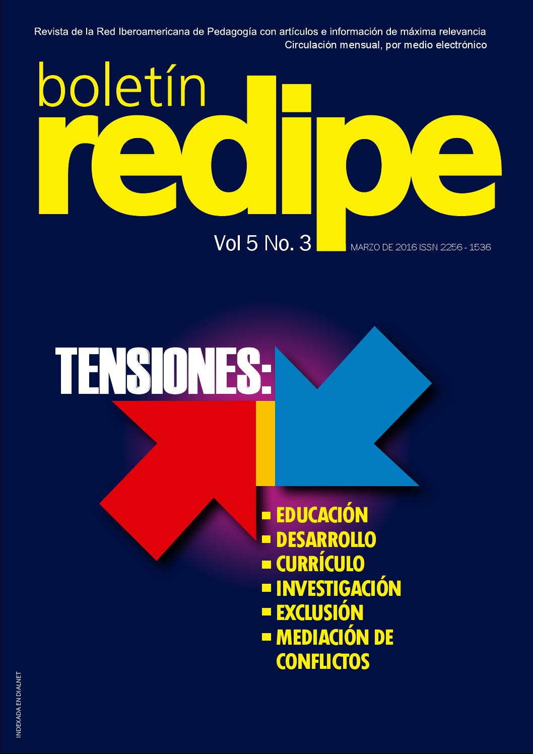 Boletin Redipe Vol5 Ed3 by REDIPE - issuu