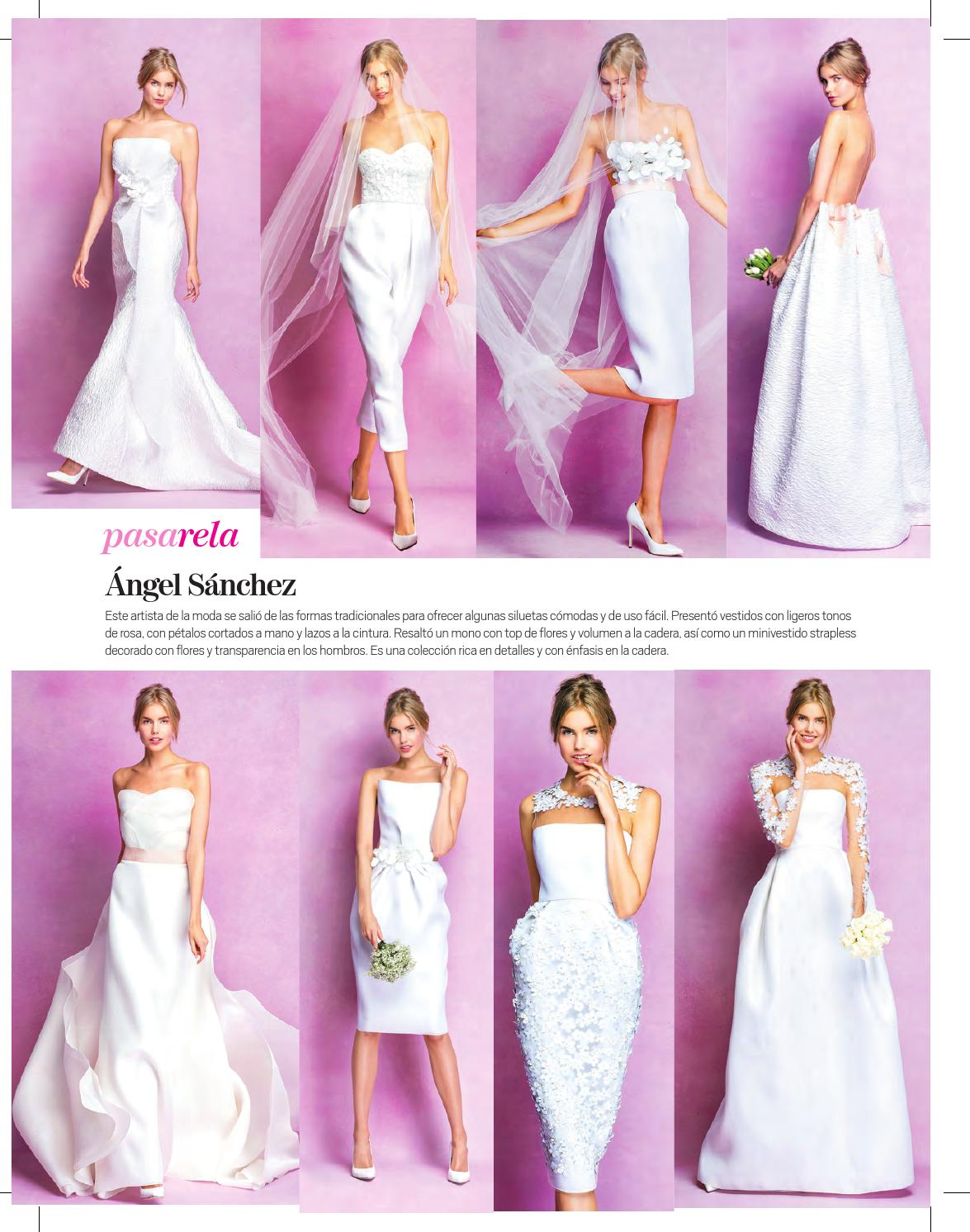 Mujeres novia 2016 by Grupo Editorial Altamirano - issuu