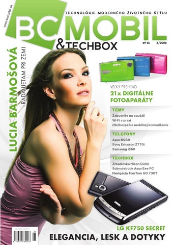 d53adfd7d BCMOBIL & TECHBOX 6/2008 by TECHBOX.sk - issuu