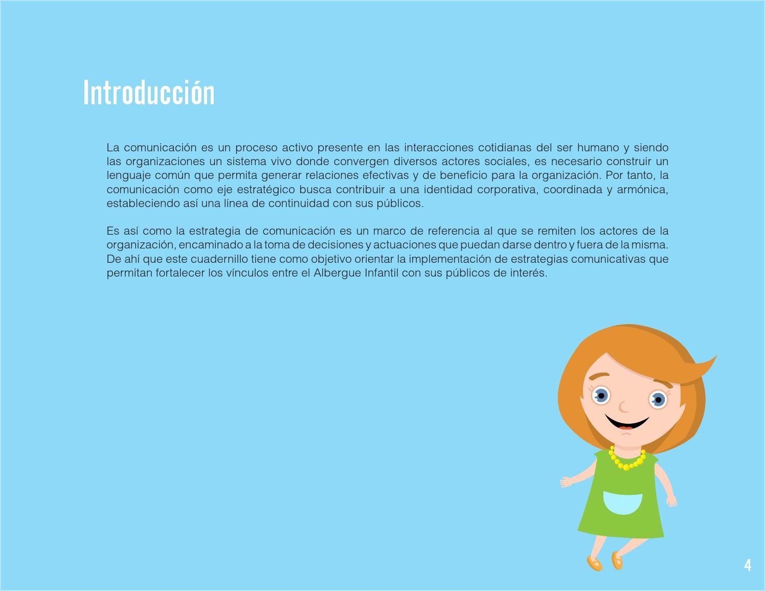 Plan Estratégico de Comunicacion - Albergue Infantil de Neiva by ...