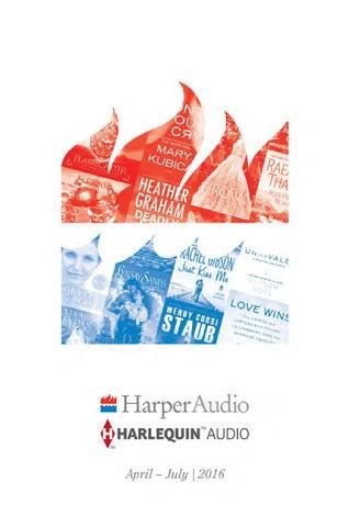 Harperaudio Titles From Blackstone Audio Apr Jul 2016 By Blackstone