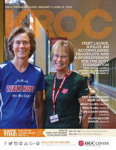 The Salvation Army Kroc Center 2016 Winter Spring Program Guide By