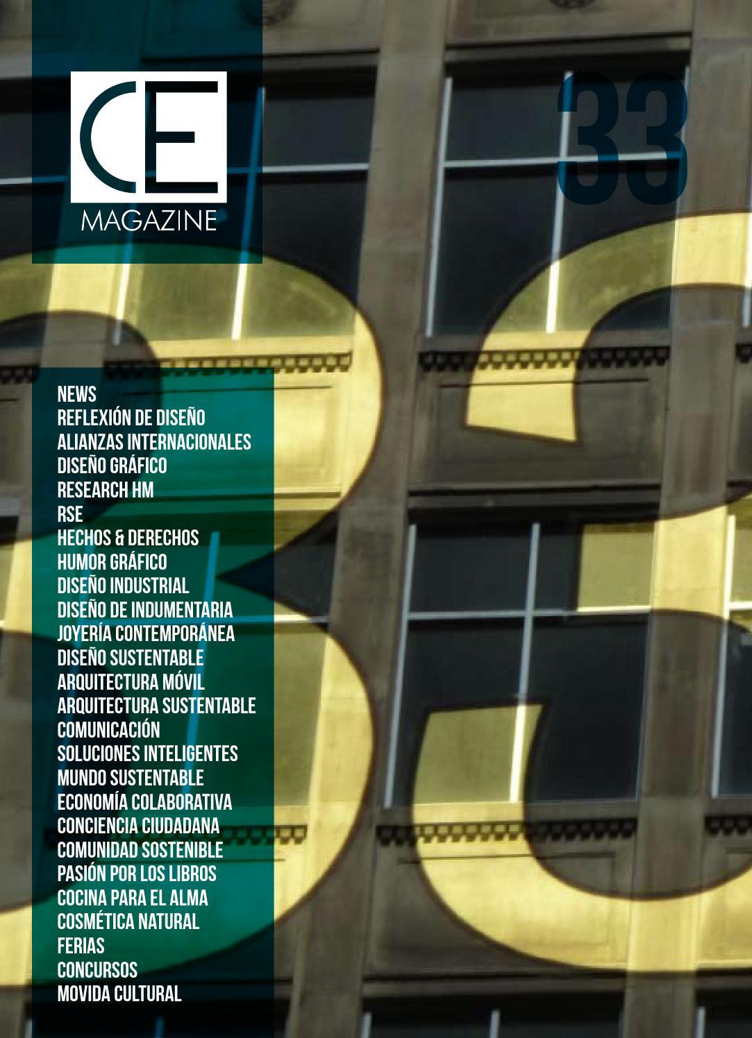 CEmagazine # 33 año 2016 by Creatividad Etica - issuu