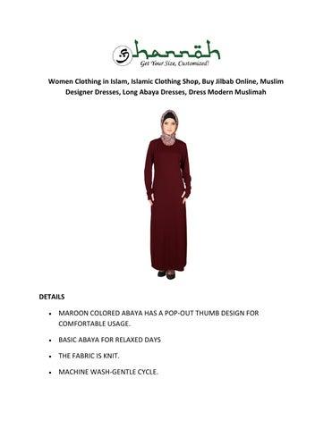 Muslim Clothing Abaya Jilbab And Hijab Store Online Get Special