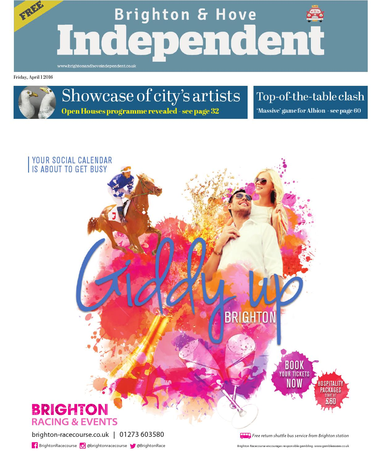 Brighton \u0026 Hove Independent- 14 October 2016 by Brighton \u0026 Hove ...