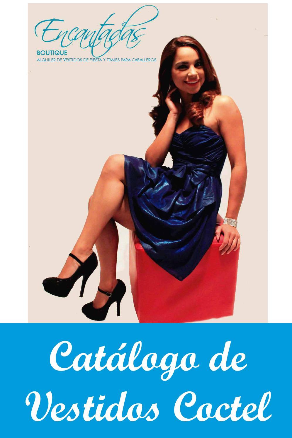 Catálogo Vestidos Cóctel Encantadas Boutique By