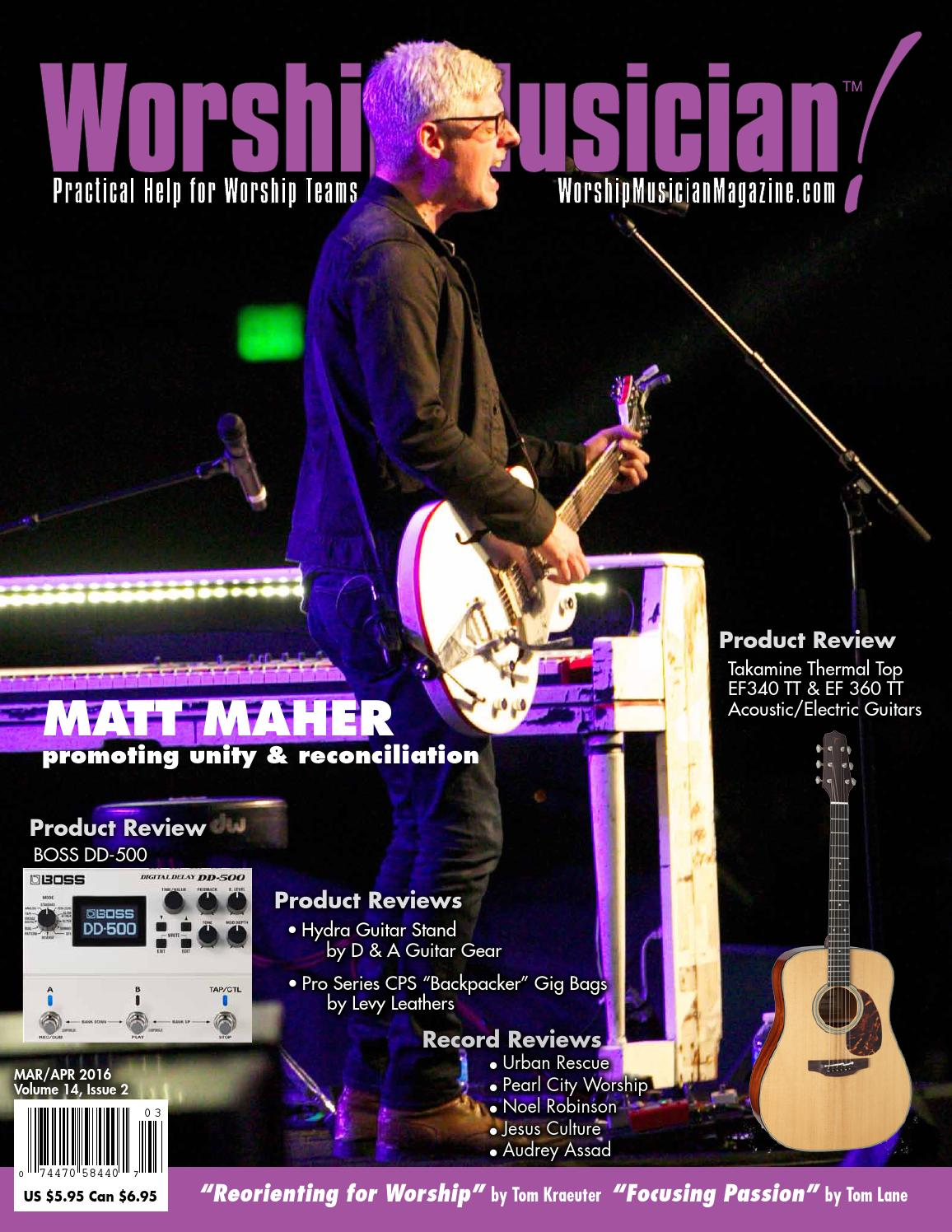 Worship Musician Magazine Marapr 2016 By Worship Musician