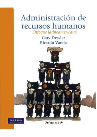 Administracion de recursos humanos un enfoque latinoamericano by ...
