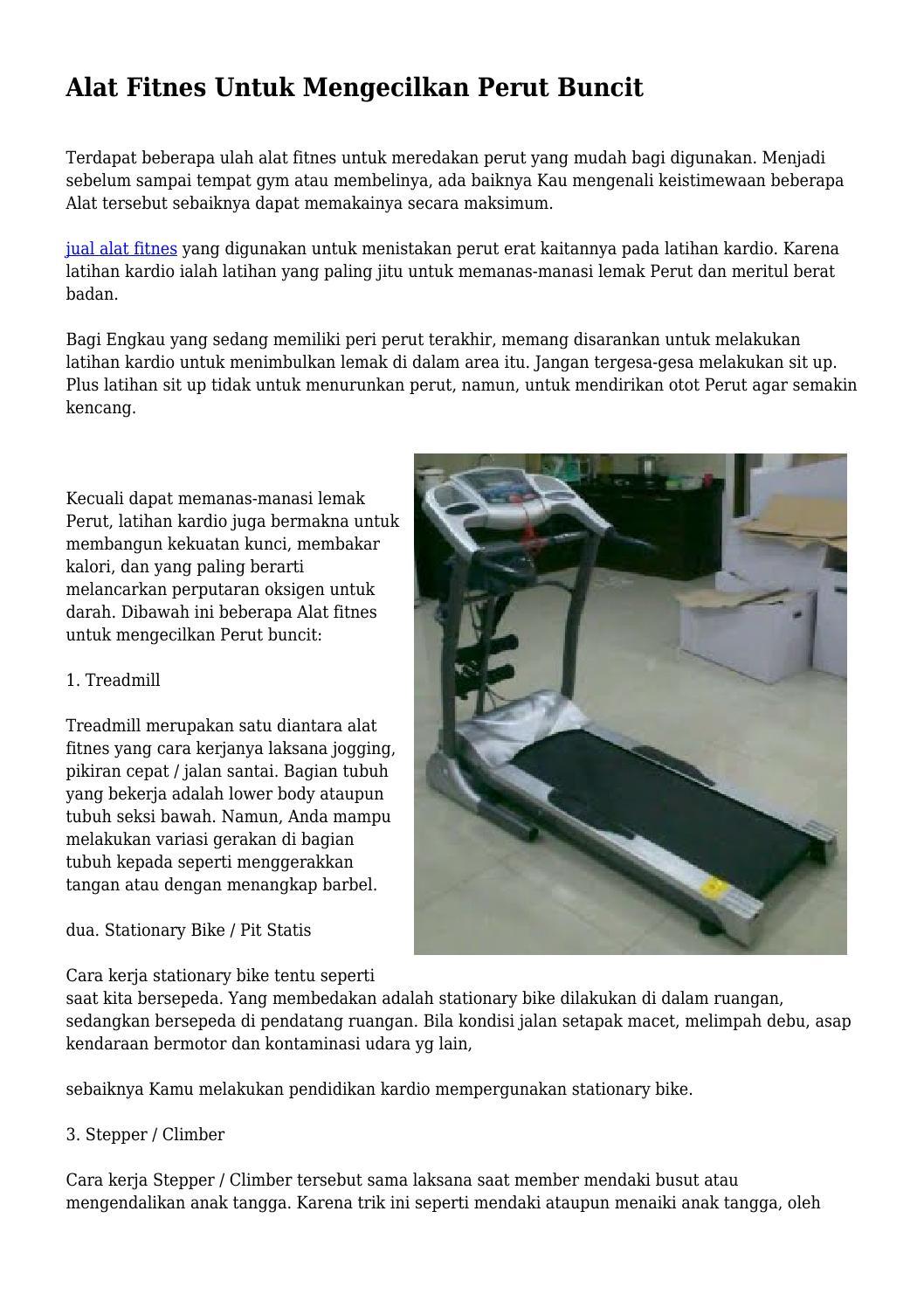 Alat Fitnes Untuk Mengecilkan Perut Buncit By Digikesehatanoke Issuu