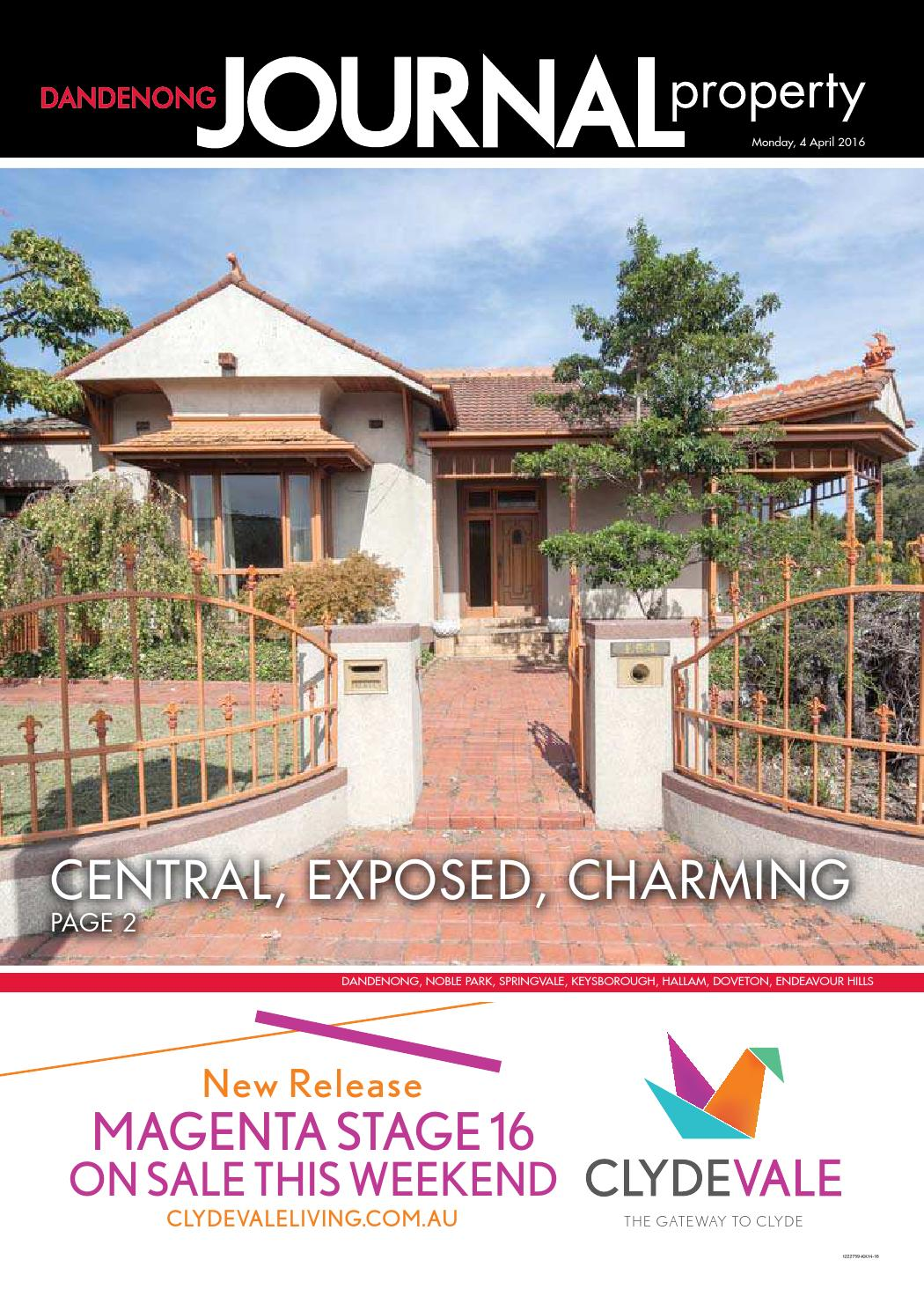 Dandenong Journal Property 04th April