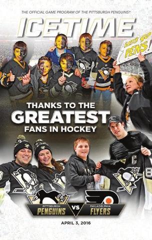 636dd2528e0 IceTime - Game 41 vs. Philadelphia Flyers 4.3.16 by Pittsburgh ...