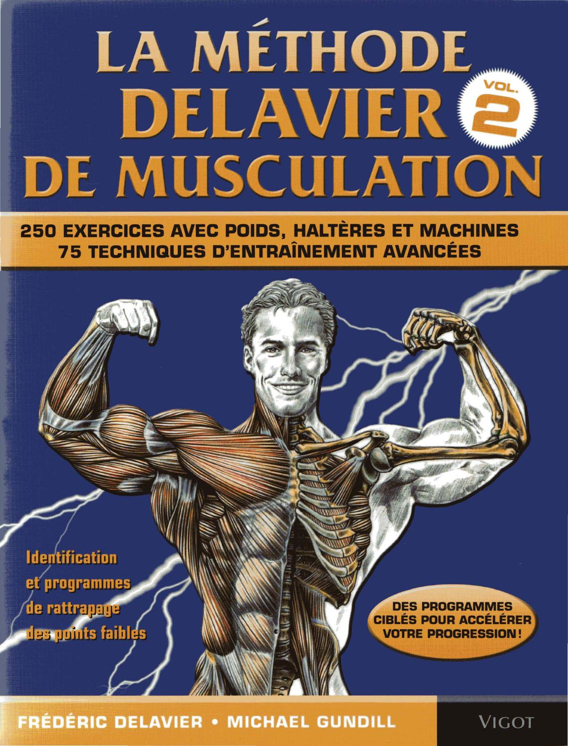 Delavier Frederic Guide Des Mouvements De Musculation Volume 2 By Swag Issuu