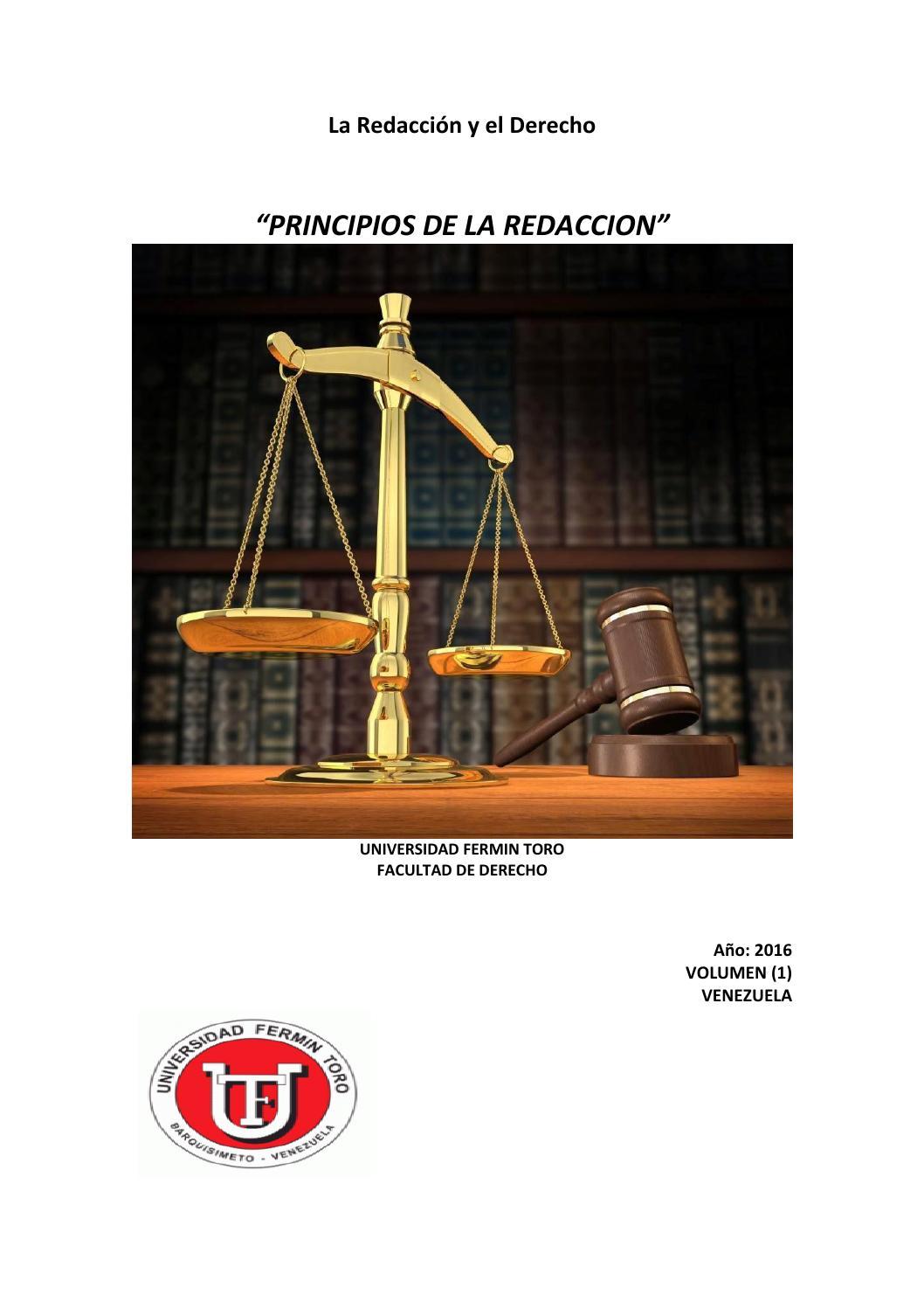 La Redacción y el Derecho by Vanesa Carolina Mendoza Lopez - issuu