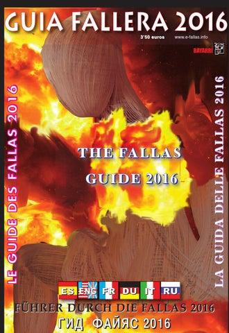 Guía Fallera 2016