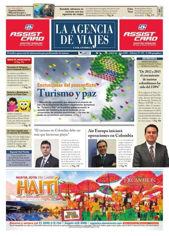 7aa9b50abb9 La Agencia de Viajes Colombia N° 192 by Ladevi Media   Solutions - issuu