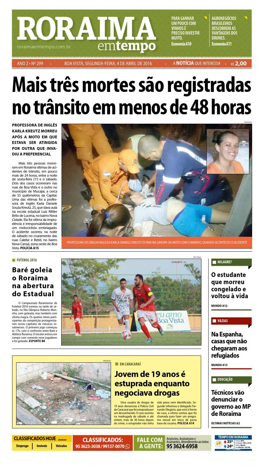 Jornal roraima em tempo – edição 299 – período de visualização gratuito by  RoraimaEmTempo - issuu c3c57eae48b