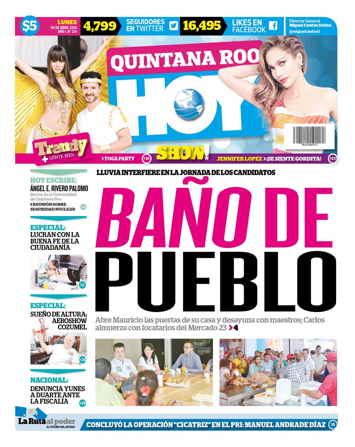Qh040416 by Quintanaroohoy - issuu