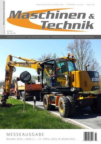 Maschinen & Technik | April 2016 by TB Verlag - issuu