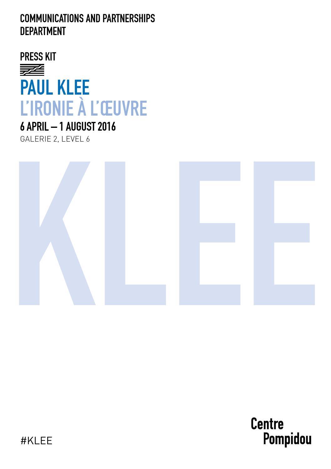0e75a4a621add9 Paul Klee exhibition - Pompidou Centre - Paris by Jason Whittaker - issuu